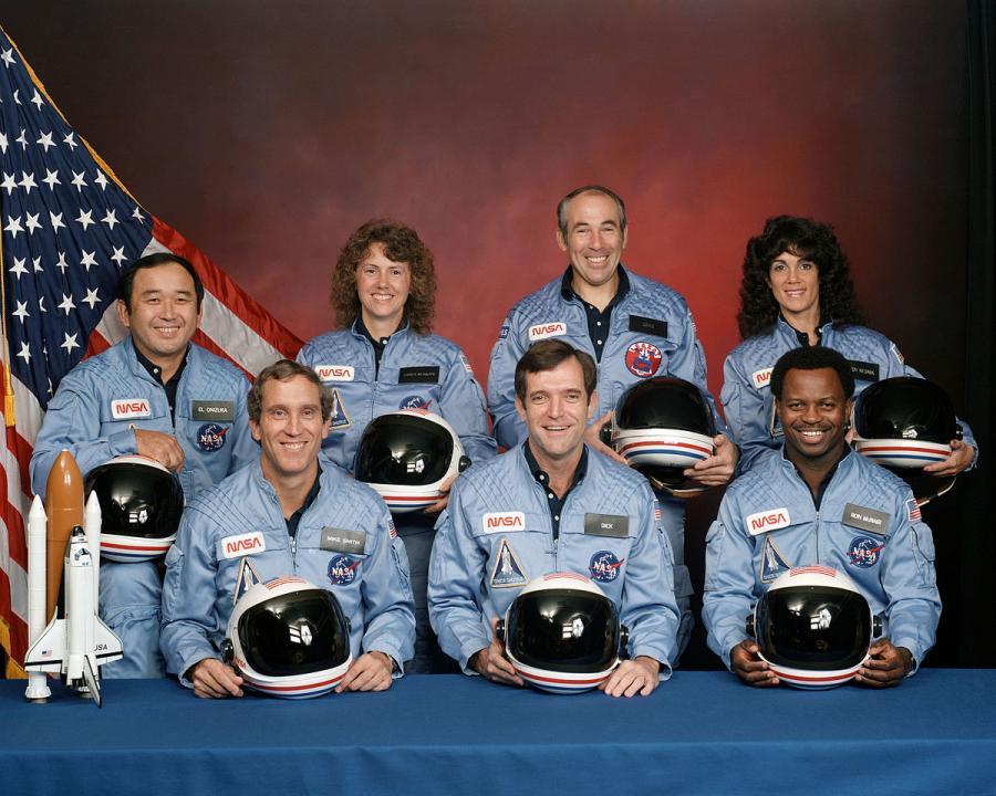 Ζει το πλήρωμα του Space Shuttle Challenger;