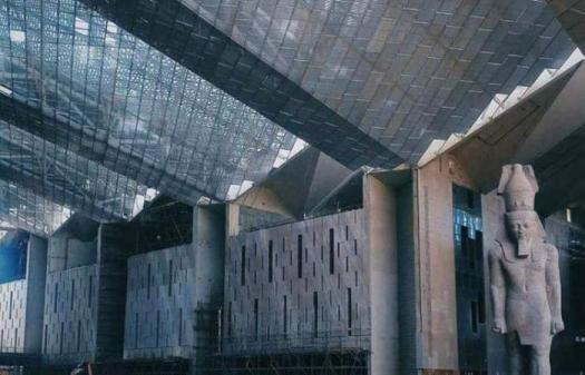 Fake News η επίσκεψη της Μαρέβας Μητσοτάκη στο Grand Egyptian Museum